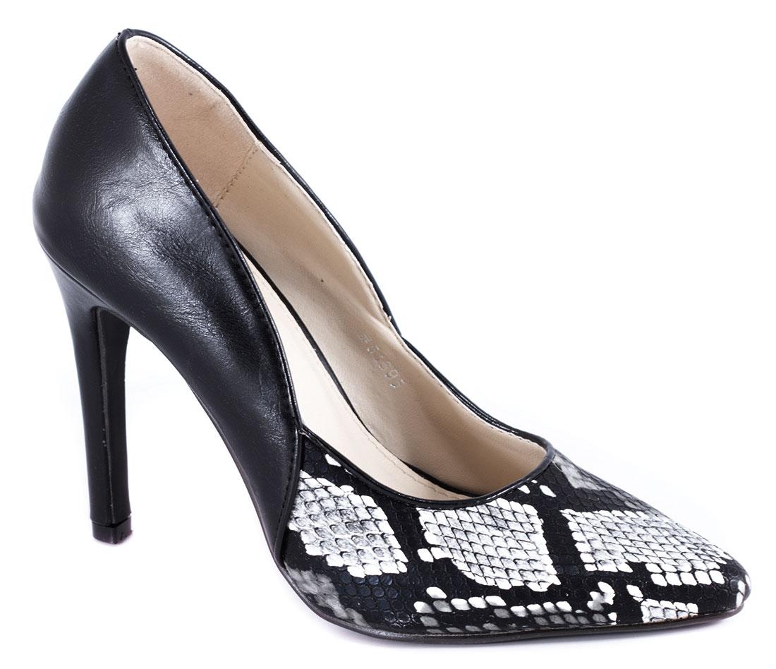 Pantofi dama negri toc 10 cm Vyka