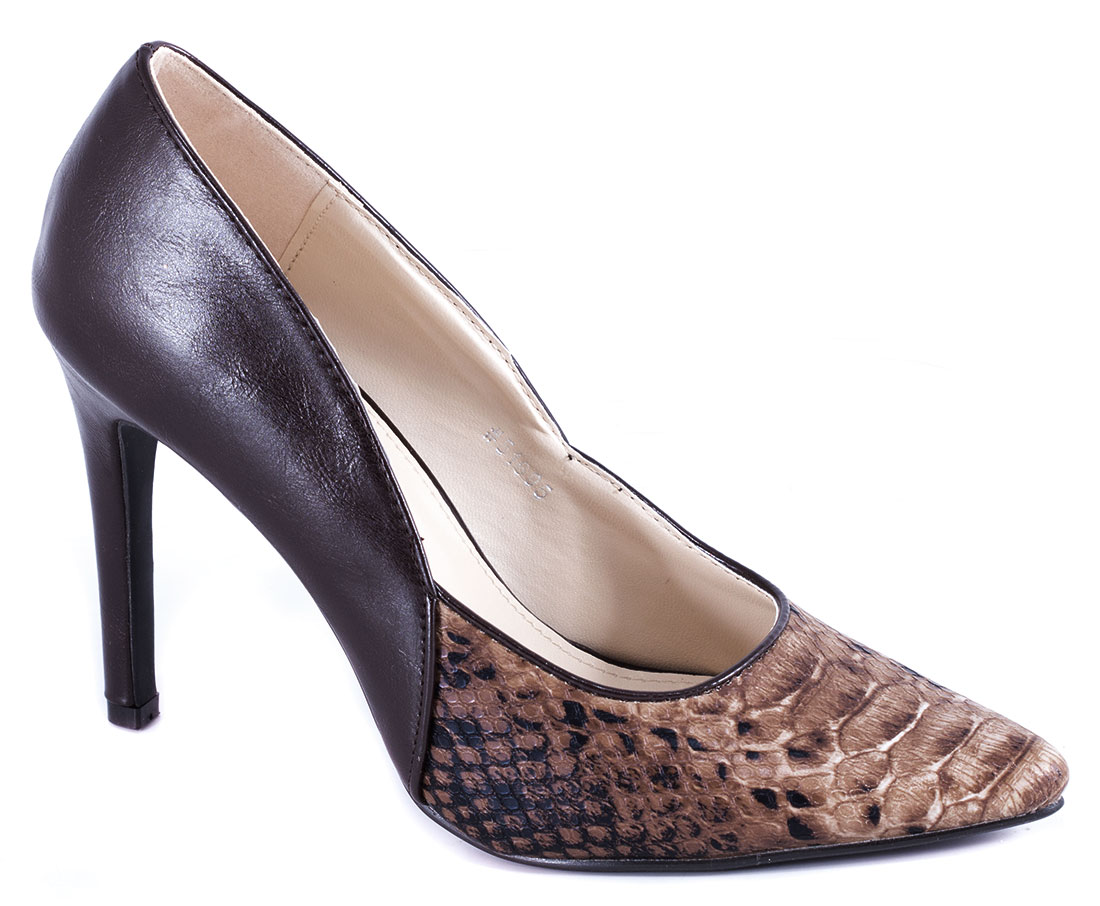 Pantofi dama maro toc 10 cm Vyka