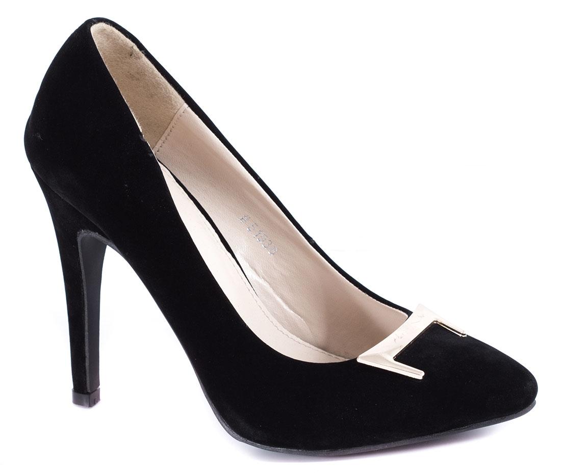 Pantofi dama negri toc de 10 cm Yonna