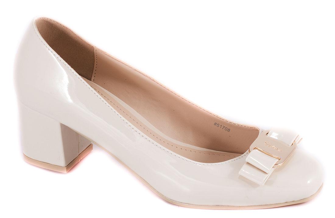 Pantofi dama bej cu toc 5 cm Grynna