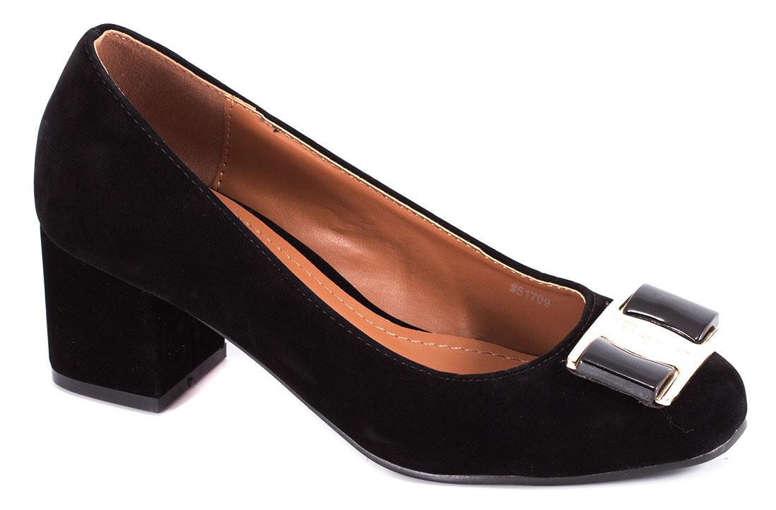 Pantofi dama negri cu toc de 5 cm Lorre