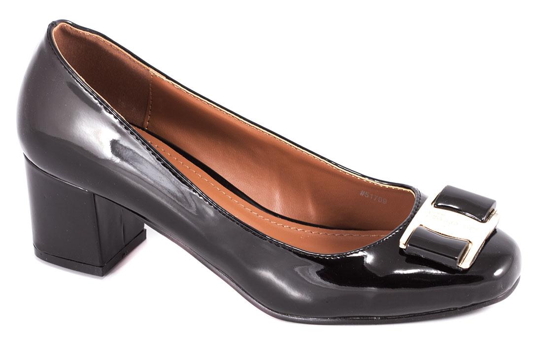 Pantofi dama negri cu toc 5 cm Lorre
