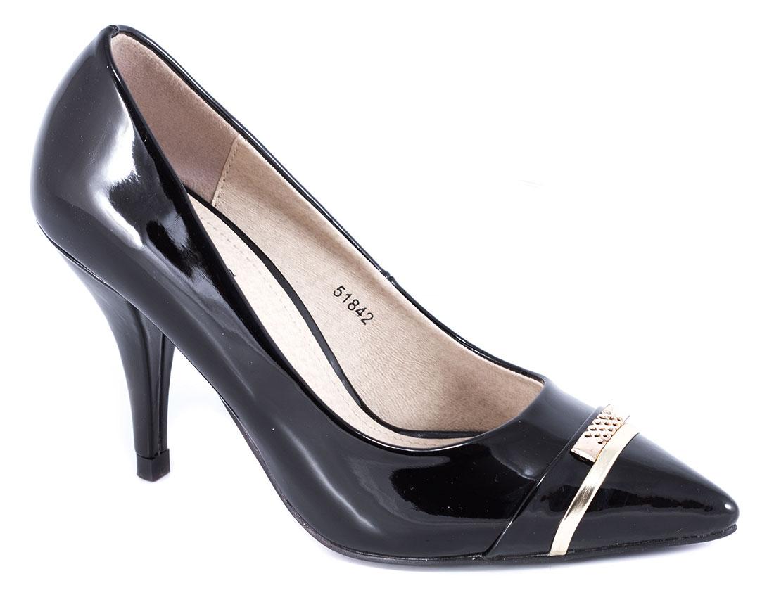 Pantofi dama negri lac toc 9 cm Gynna