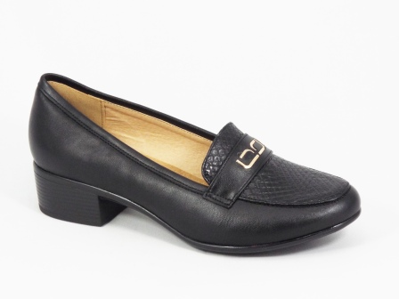 Pantofi dama negri toc 3,5 cm Ioana