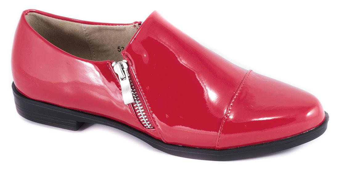 Pantofi dama rosii lac toc 2 cm Vanka