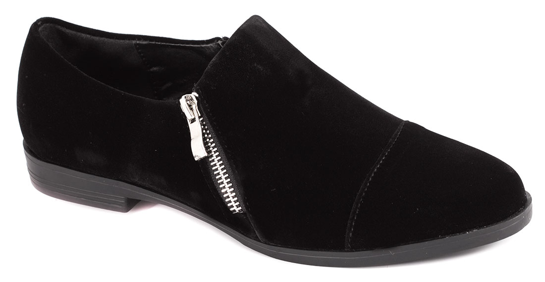 Pantofi dama negri toc 2 cm Vanka