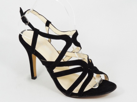 Sandale dama negre toc 10 cm Nety