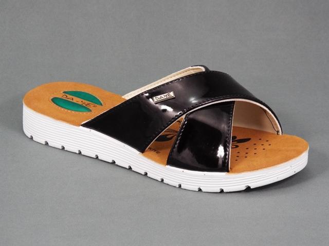 Papuci dama negri toc 2,5 cm Bella