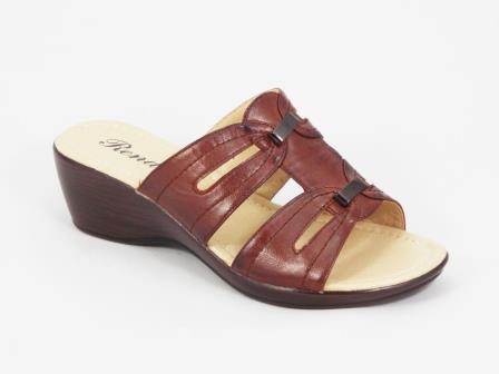Papuci dama maro ortopedici toc 5 cm Derya
