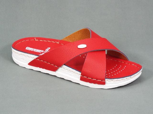 Papuci dama rosii Synka