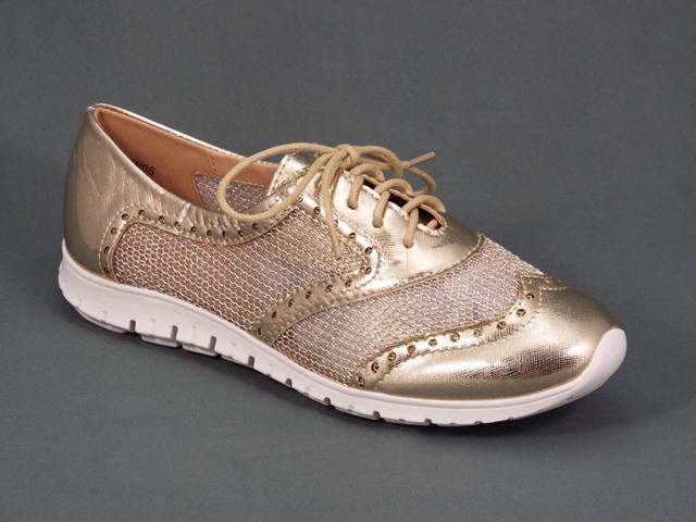 Pantofi dama sport aurii Monyka