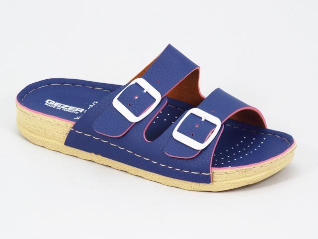 Papuci dama albastri Dyta