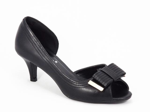 Pantofi dama negri toc 6 cm Flory