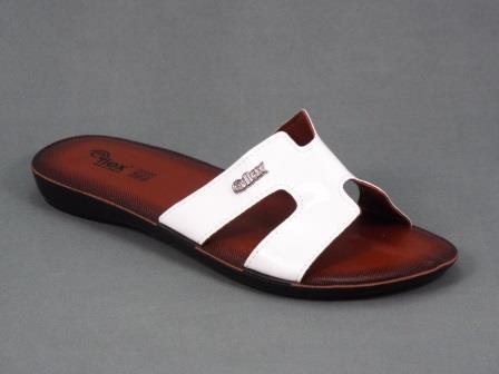 Papuci dama albi Vorya