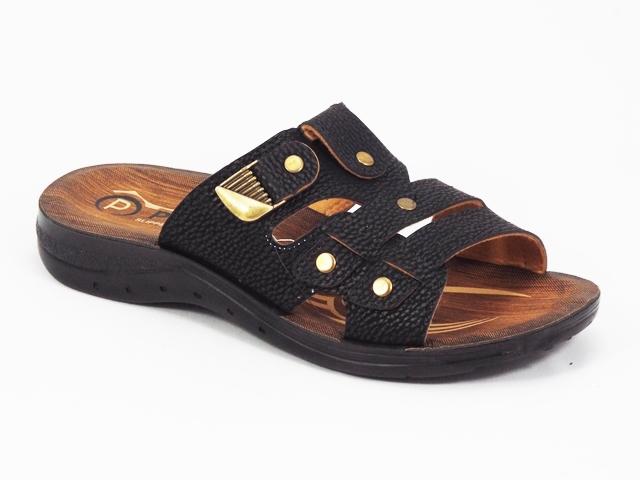 Papuci barbati negri Horya