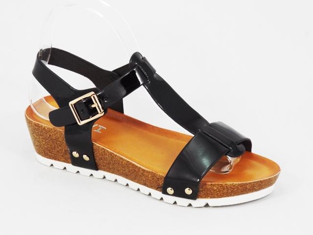 Sandale dama negre lac Annete