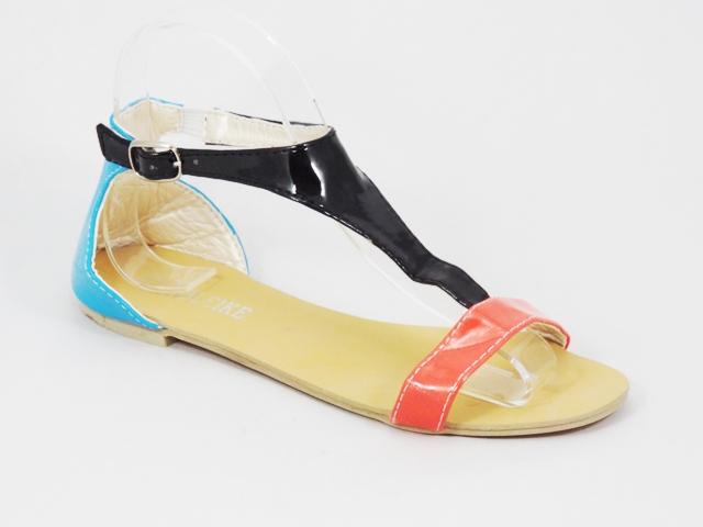 Sandale dama trei culori Laura