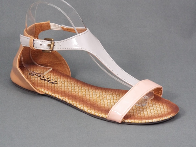 Sandale dama bej Yne