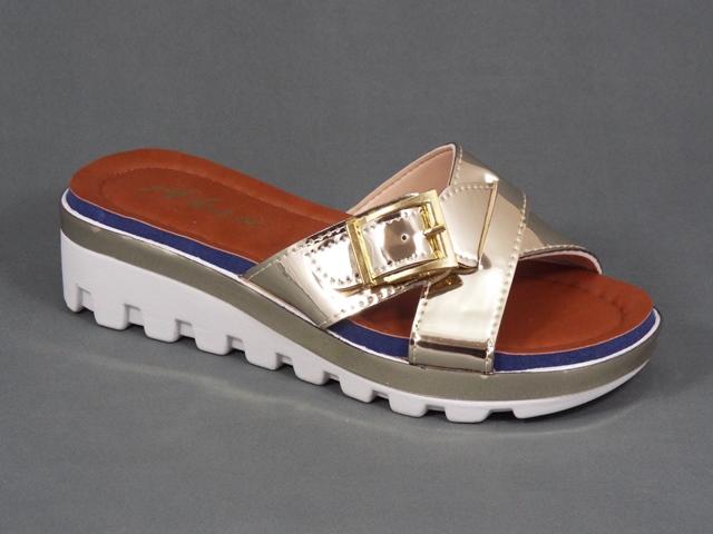Papuci dama aurii Yana