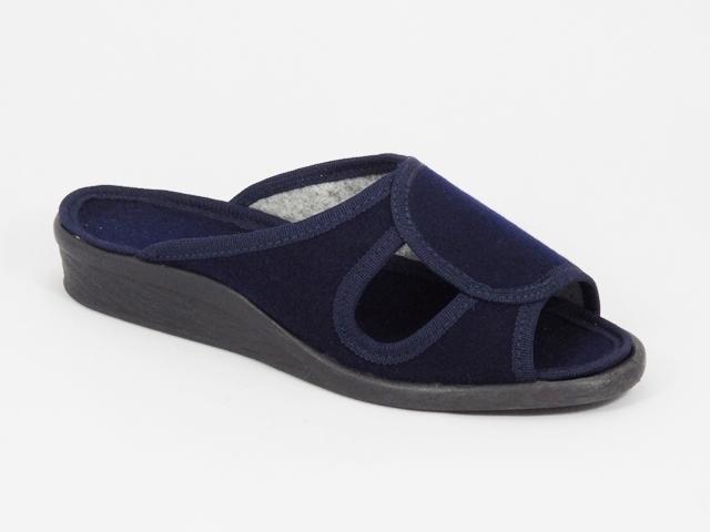 Papuci dama albastri 1 Lenna