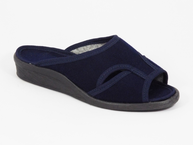 Papuci dama albastri 6 Lenna