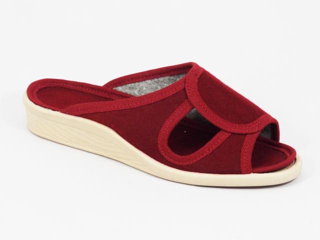 Papuci dama rosii 2 Lenna