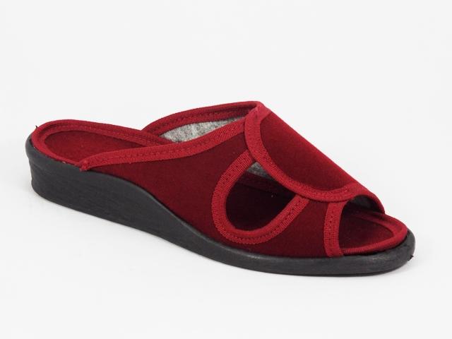 Papuci dama rosii 3 Lenna