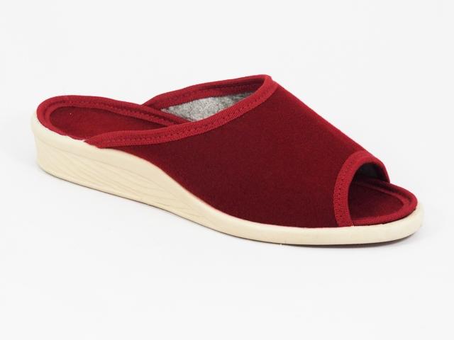 Papuci dama rosii 6 Lenna