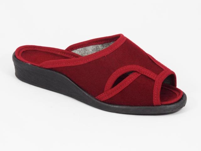 Papuci dama rosii 7 Lenna