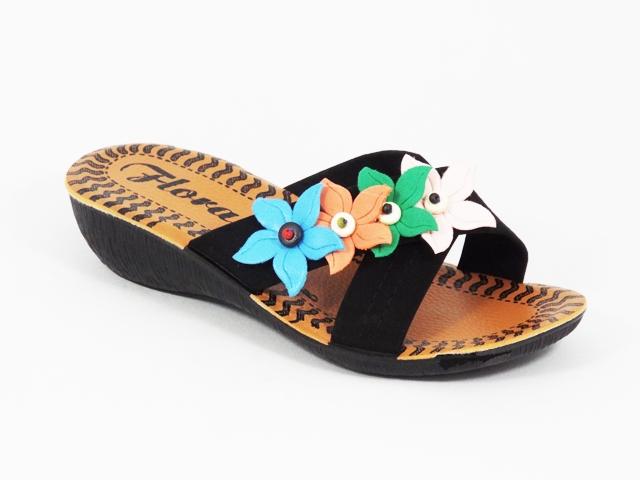 Papuci dama negri toc 4 cm Vyka