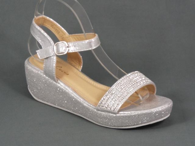 Sandale dama argintii Helena