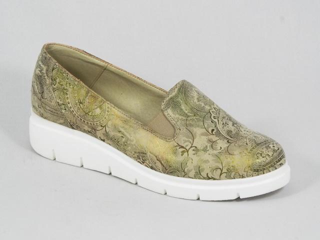 Pantofi dama piele verde sidefat Diana