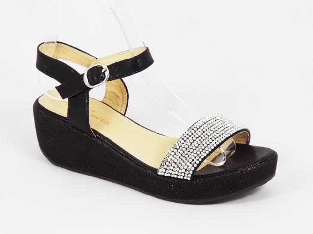 Sandale dama negre Helena