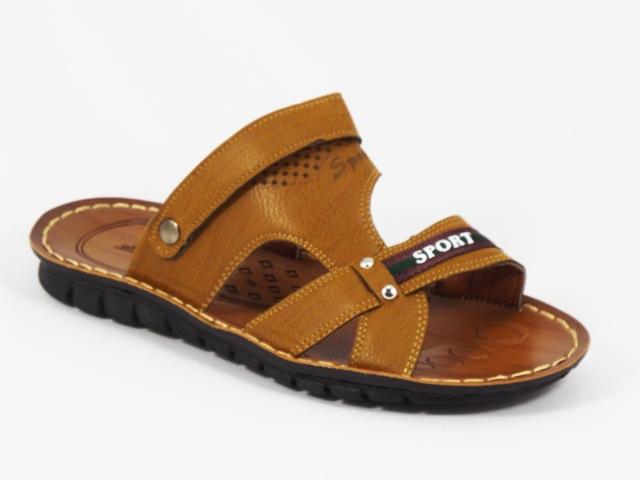 Papuci barbati khaki Doryn