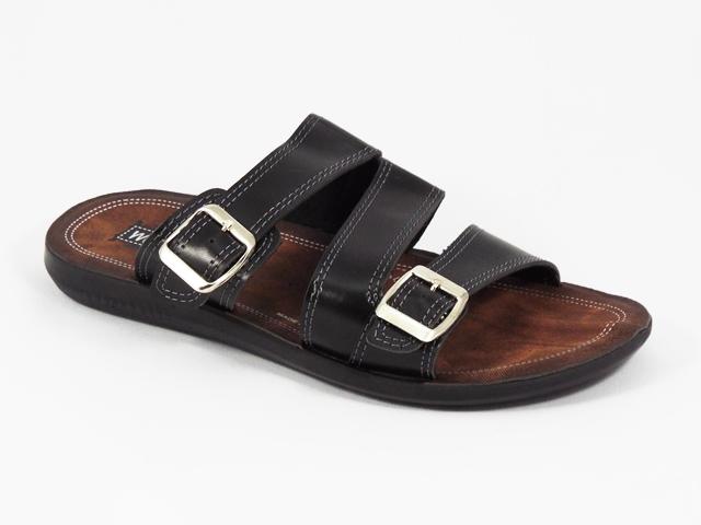 Papuci barbati negri Malin
