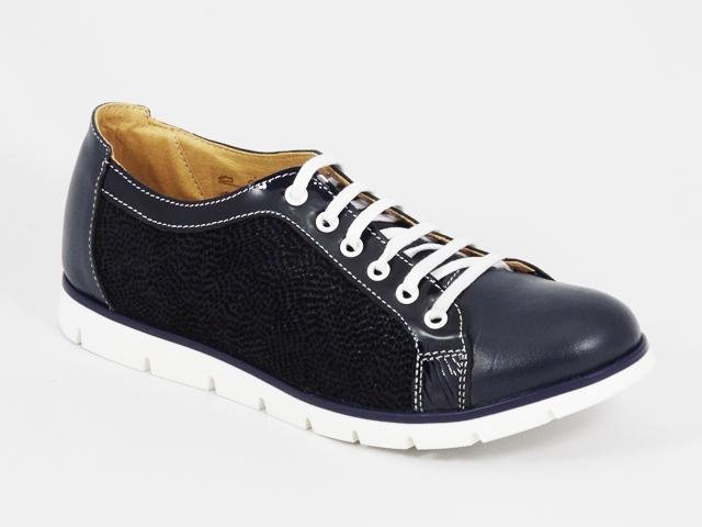 Pantofi dama piele albastri Russy