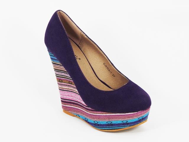 Pantofi dama mov toc 13 cm Ryna