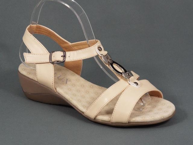 Sandale dama negre toc 4,5 cm Roxi
