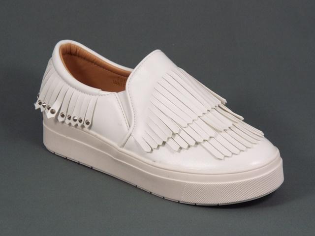 Pantofi dama sport albi Kola