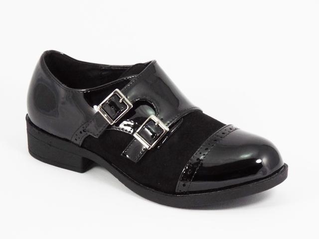 Pantofi dama negri lac Sonyk
