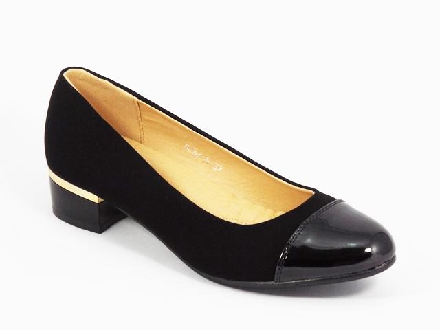 Pantofi dama negri lac Monyke