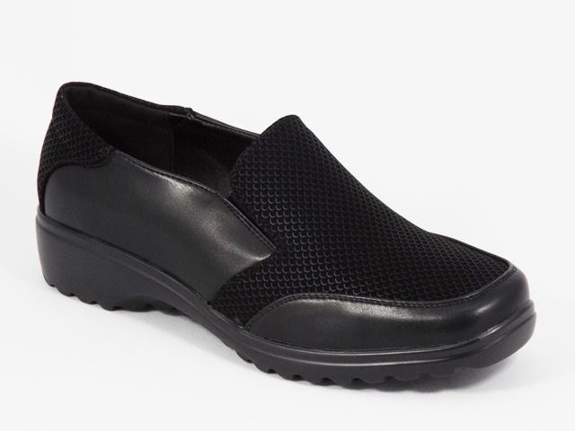 Pantofi dama negri toc 3,5 cm Zoryna