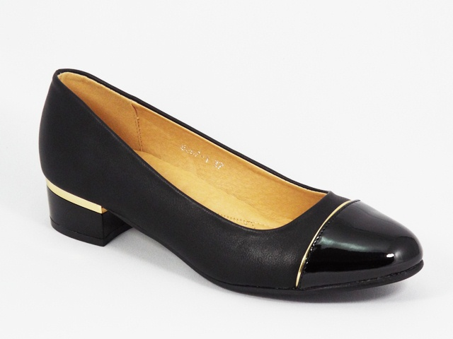 Pantofi dama negri toc 3,5 cm Doina