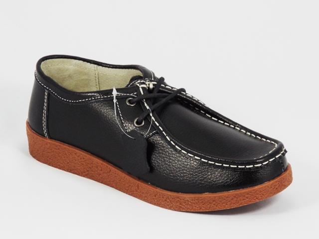 Pantofi Dama Piele Negri Denysa