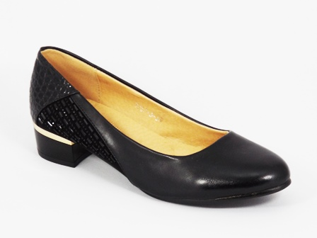 Pantofi dama negri toc 3 cm Elene
