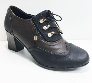 Pantofi dama maro cu negru Inna