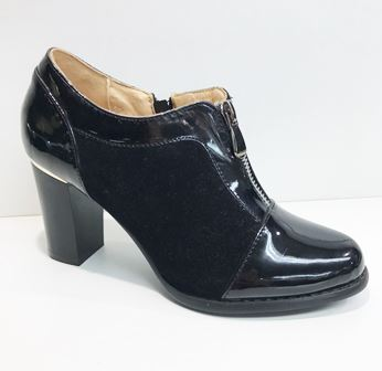 Pantofi dama negri lac toc 10 cm Anna