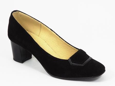 Pantofi dama piele negri Doryna