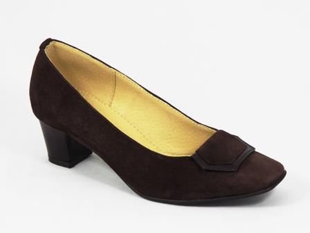 Pantofi dama piele maro Doryna