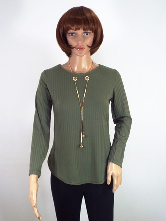 Bluza dama khaki Gina